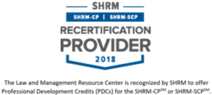 shrm 2018, shrm programs, hrci programs, san diego human resource, employment law, san diego